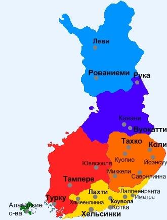 Финляндия от туроператора